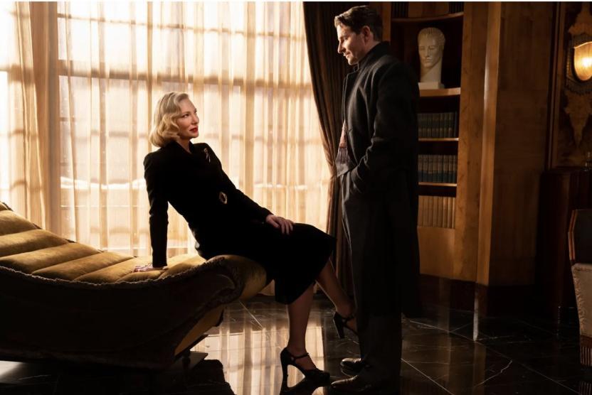 Nightmare Alley:La doctora Ritter (Cate Blanchett) y Stanton