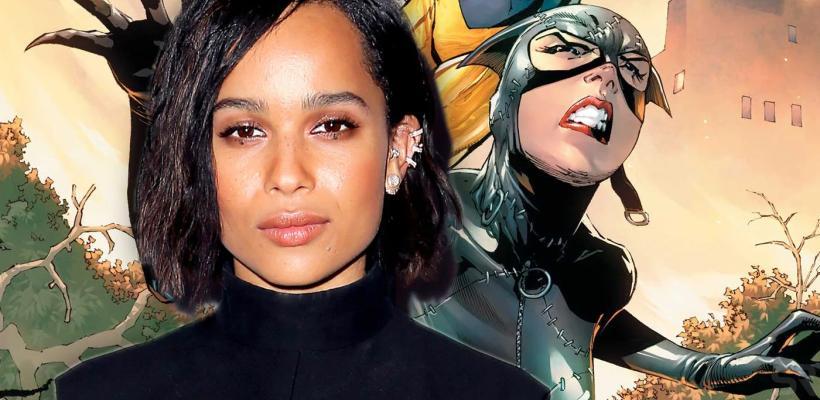 The Batman: DC lanza una nueva imagen de Zoë Kravitz como Catwoman