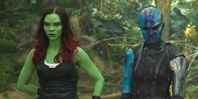 Guardianes de la Galaxia Vol. 3: Seth Green dijo que se va a centrar en Nebula y Gamora