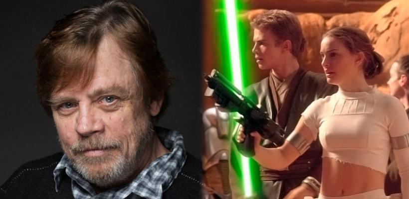 Star Wars: Mark Hamill dice que las precuelas lo impresionaron por su originalidad