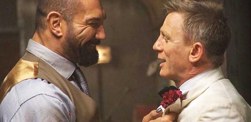 Daniel Craig dice que huyó asustado de Dave Bautista tras golpearlo por accidente en el set de Spectre