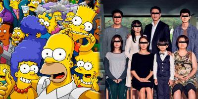Los Simpson hará una parodia de Parásitos para su nuevo especial de terror