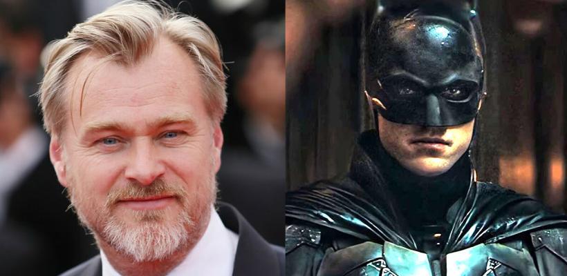 Christopher Nolan alaba el trabajo de Robert Pattinson y Matt Reeves en The Batman