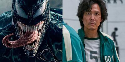 Venom le quita el primer lugar a El Juego del Calamar en el top 10 de Netflix