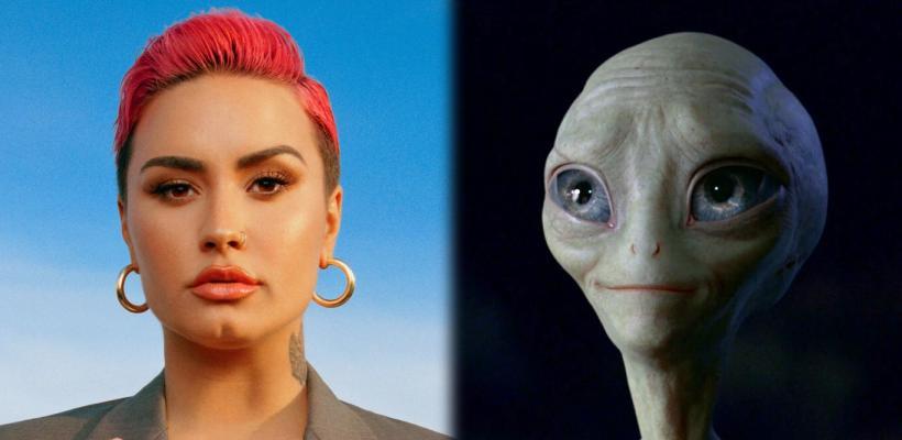 """Demi Lovato asegura que decirle """"alien"""" a los extraterrestres es discriminación"""