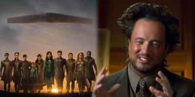 Eternals se inspiró en Alienígenas Ancestrales, revela Kevin Feige