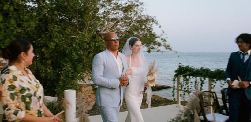 La familia es primero: hija de Paul Walker se casó y Vin Diesel la entregó en la ceremonia