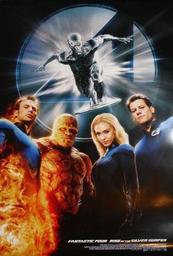Los Cuatro Fantásticos y el Deslizador de Plata