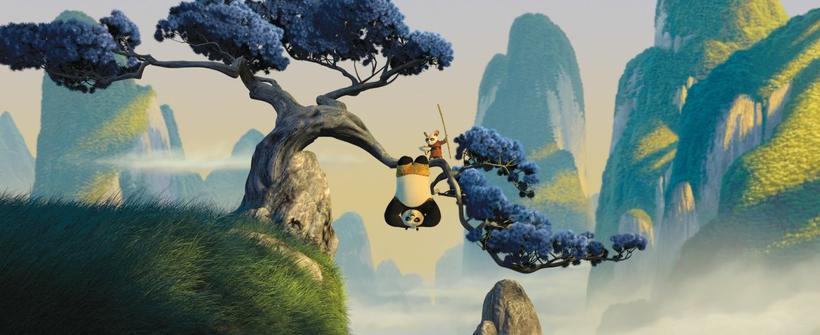 Kung Fu Panda - Tráiler