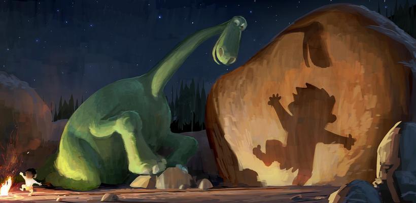 Pixar revela voces de Un Gran Dinosaurio