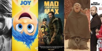 Las mejores 10 películas de lo que va del 2015