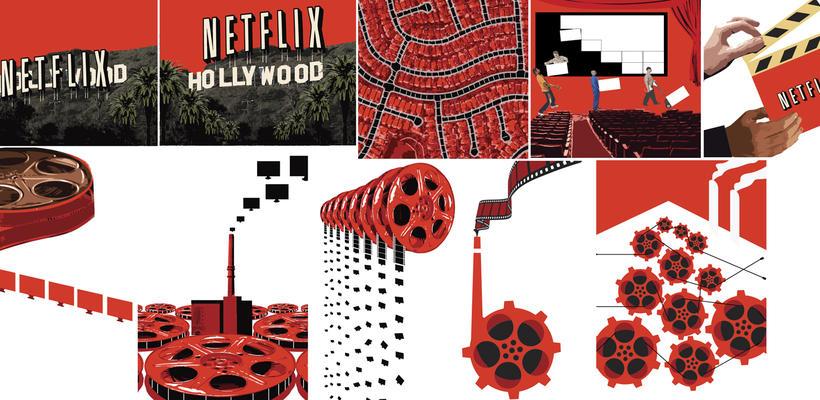 Netflix llega a Hollywood