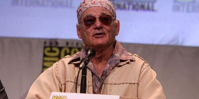 Bill Murray hace su primera aparición en Comic-Con