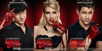 Ve los nuevos pósters de Scream Queens