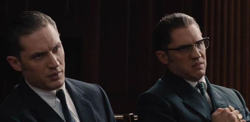 Mira a Tom Hardy y a... Tom hardy en el trailer de Legend