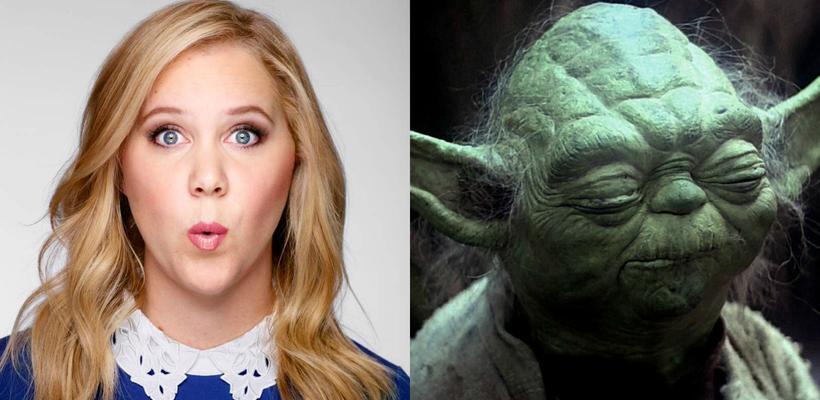 Lucasfilm no está contento con Amy Schumer