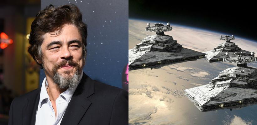 Star Wars: Episode VIII quiere a Benicio del Toro como villano