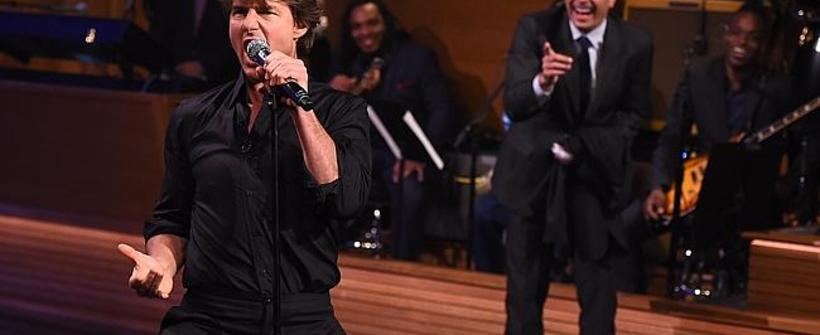 Tom Cruise vs. Jimmy Fallon en una Lip Sync Battle