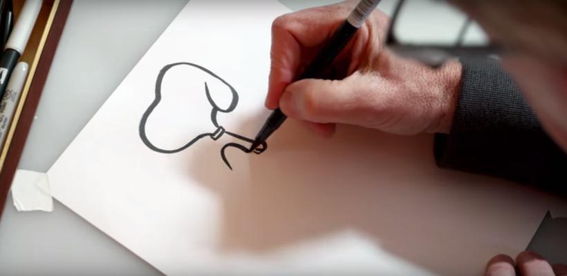 Aprenda a dibujar a Snoopy