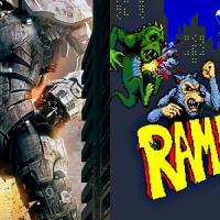 Títanes del Pacífico (2013) basada en Rampage (1986). Pacific Rim se trata de luchar con monstruos gigantescos ¿Creías que estaba basada en Godzilla? Para nada. Se trata de Rampage (1986) de Bally Midway, un juego de monstruos gigantes, que tuvo una secuela en Nintendo 64.