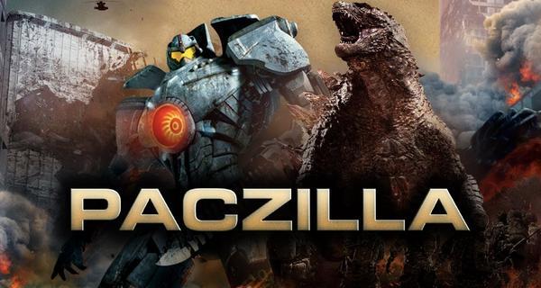Paczilla - Titanes del Pacífico vs. Godzilla Mashup - FanTrailer