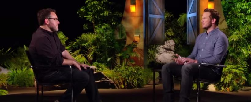 Mundo Jurásico: Recuerdos de Chris Pratt sobre Parque Jurásico. Bonus del Blu-ray