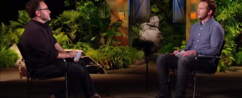 Mundo Jurásico: Chris y Colin hablan. Bonus del Blu-ray
