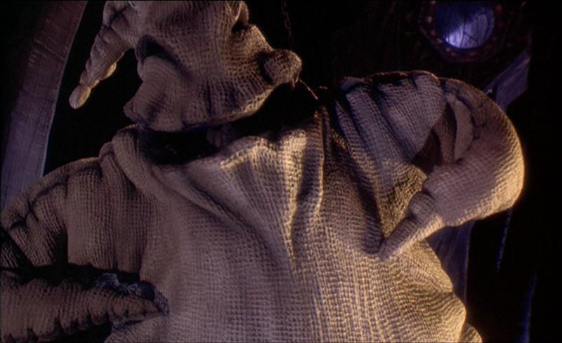 Oogie-Boogie- Nightmare Before Christmas (1993) Claro, no podía faltar el archienemigo de Jack Skellington.