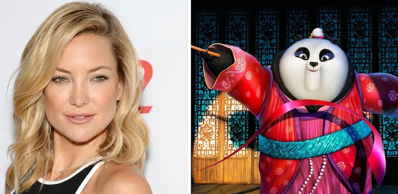 Kate Hudson se une a Kung Fu Panda