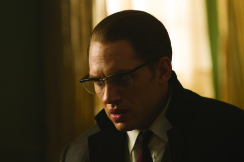 Tom Hardy como Ronald Kray en Legend