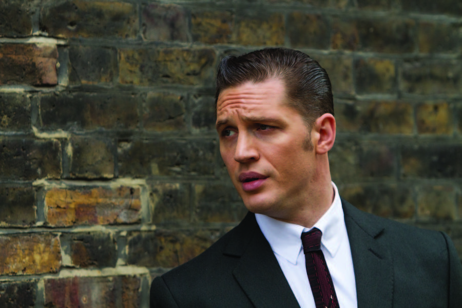 Tom Hardy como Reginald Kray en Legend