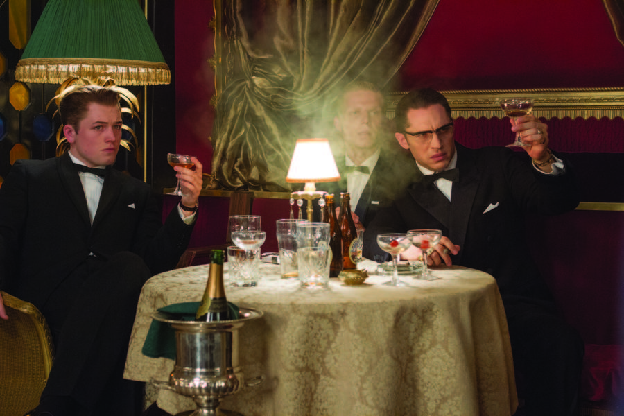 Tom Hardy es Los Hermanos Kray en Legend