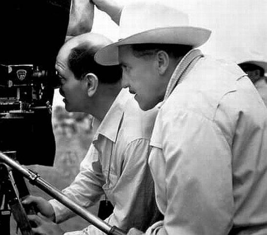 Luis Buñuel y Gabriel Figueroa