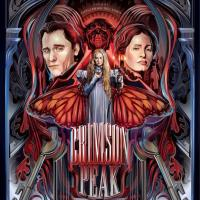 Poster de La Cumbre Escarlata para el Festival Internacional de Cine de Morelia.