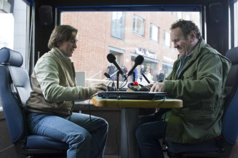 Still of Colm Meaney and Steve Coogan in Alan Partridge: Alpha Papa (2013)