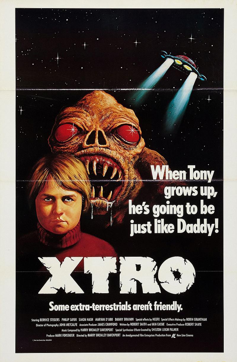 Extro, el Extraterrestre (1983)