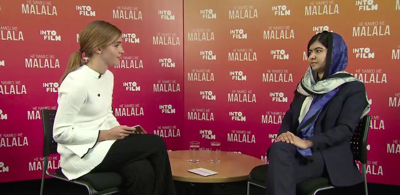 Emma Watson entrevista a Malala