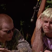 Still de Ewan McGregor y Jonny Lee Miller en Trainspotting (1996)