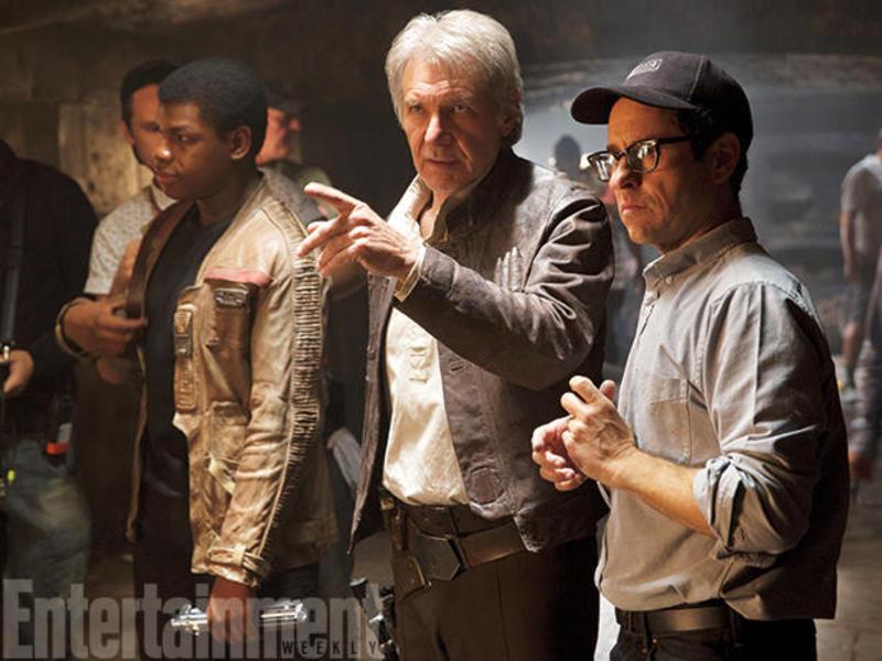 Han Solo y J.J. Abrams