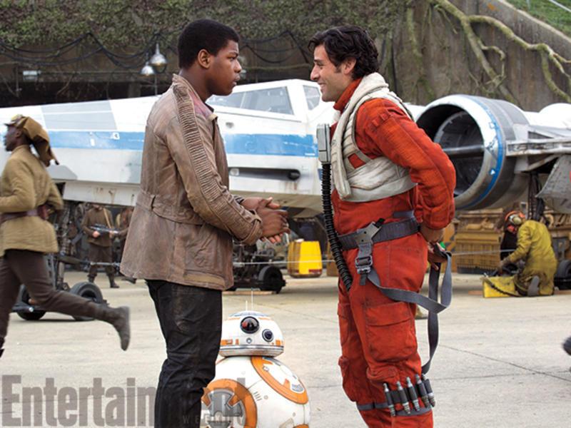 Finn y Poe Dameron