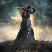 Poster oficial de Orgullo, Prejuicio y Zombies.