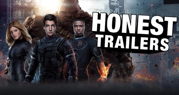 Los 4 Fantásticos - Honest Trailer