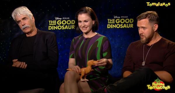 Entrevista al reparto de Un Gran Dinosaurio