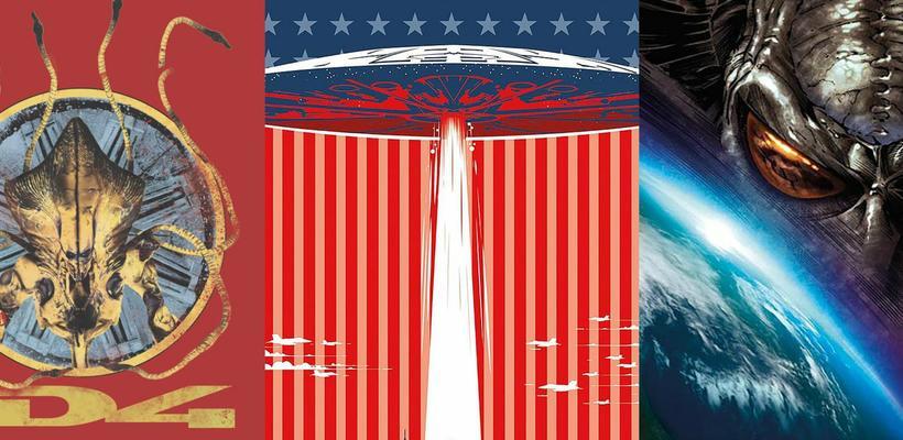 Regresan los aliens de Día de la Independencia en cómic