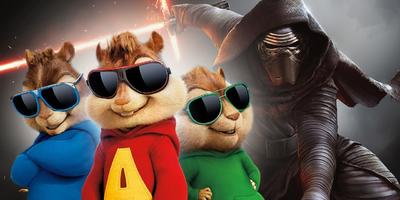 Alvin y las Ardillas destronó a Star Wars en México