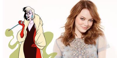 Emma Stone en platicas para interpretar a Cruella de Vill