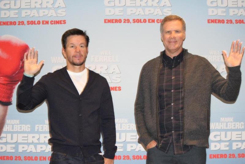 Los actores estuvieron en México para promocionar la cinta Guerra de Papás