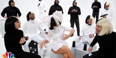 Natalie Portman canta con Sia y Jimmy Fallon