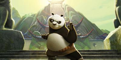 Kung Fu Panda 3 lidera la taquilla americana con $10.5 millones