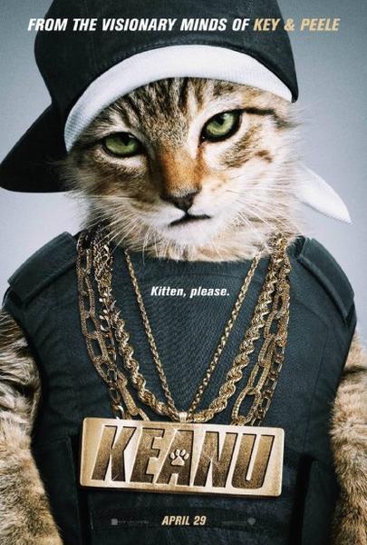 Poster oficial de Keanu (2016)